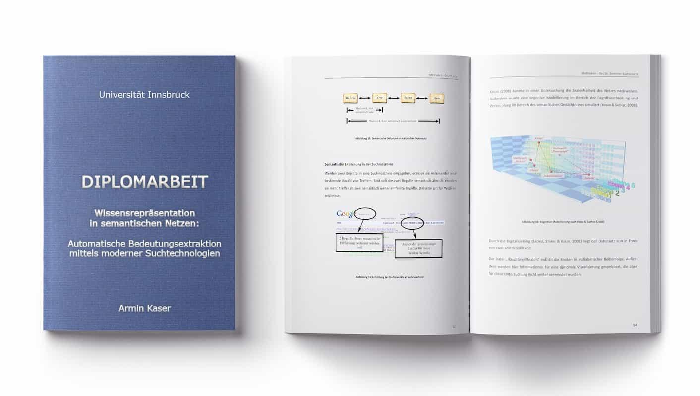 Buch Dr. Armin Kaser Diplomarbeit Universität Innsbruck Masterarbeit