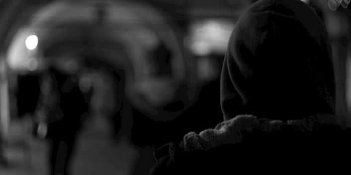 Mann Depression Burnout Einsam Traurig