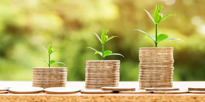 Geld Investieren Kosten Münzen
