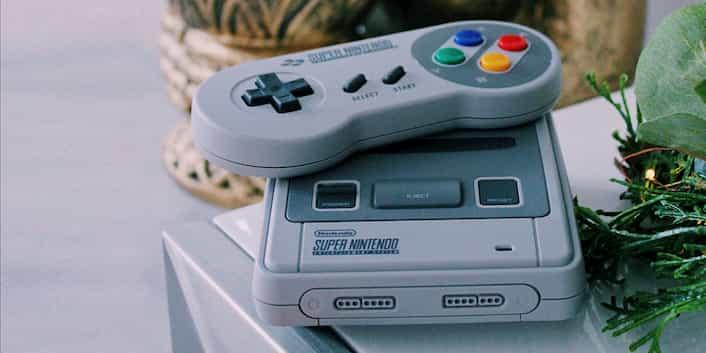 Retro-Konsole Super Nintendo
