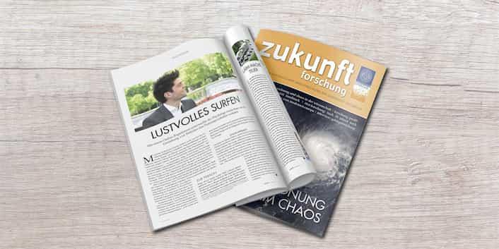 Offizielle Zeitschrift der Uni Innsbruck, Artikel Dr. Armin Kaser